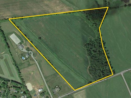 36.9+/- Acres Subdividable : Flemington : Hunterdon County : New Jersey