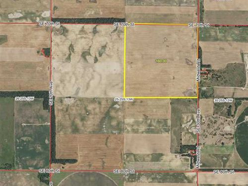Price Reduced, 160 Acres of Ti : Stafford : Kansas