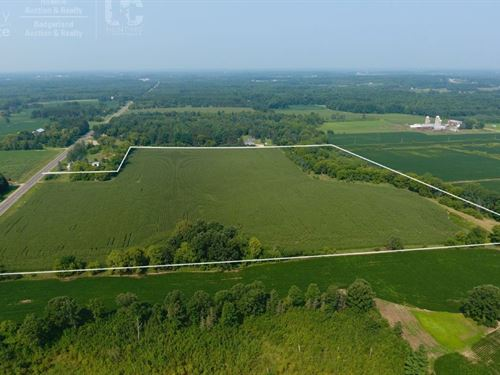 Premium Agriculture Tract For Sale : New London : Waupaca County : Wisconsin