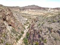 West Texas Mountain Acreage : Terlingua : Brewster County : Texas
