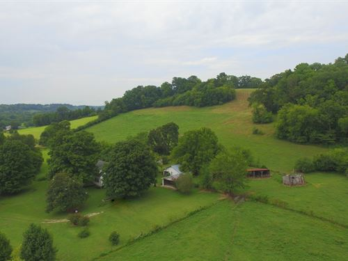 225 Acres With Old Homestead : Columbia : Maury County : Tennessee