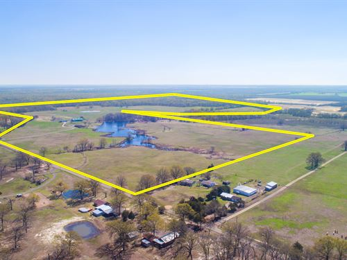 325 Acres In Franklin County, Texas : Talco : Franklin County : Texas