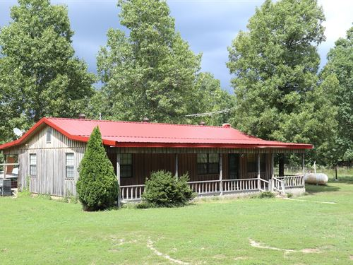 Prime Hunting Property Rustic Home : Salem : Fulton County : Arkansas