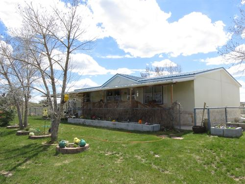 Country Ranch Home w Hunting : Regina : Rio Arriba County : New Mexico