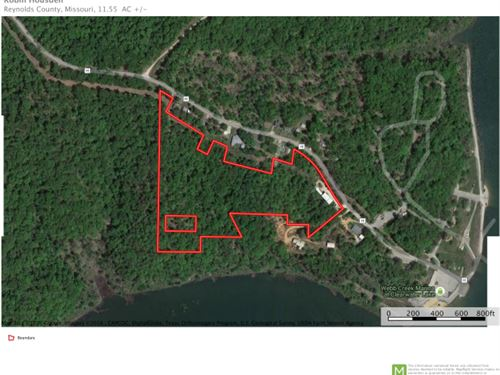 Mo Lakefront Land 11.55 Acres : Ellington : Reynolds County : Missouri