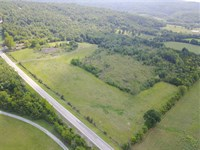 71 Acres With Pasture, Pond : Marshall : Searcy County : Arkansas