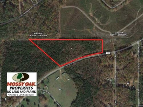 11.63 Acres of Recreational Land : Macon : Warren County : North Carolina