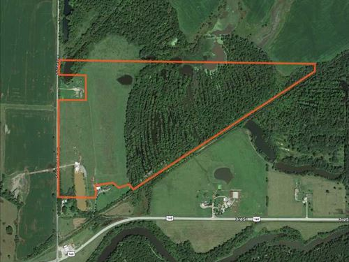 116 Acres of Recreational And Inco : Mindenmines : Barton County : Missouri