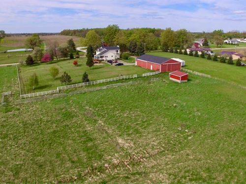 Land & Possible Home W/79 Acs : Dewitt : Clinton County : Michigan