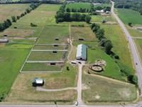 Near Finger Lakes Racetrack : Farmington : Ontario County : New York