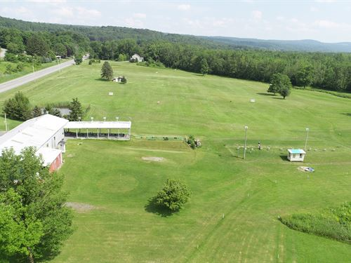 Former Golf Driving Range : Pompey : Onondaga County : New York
