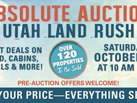 Absolute Auction, Utah Land Rush : Duchesne : Duchesne County : Utah