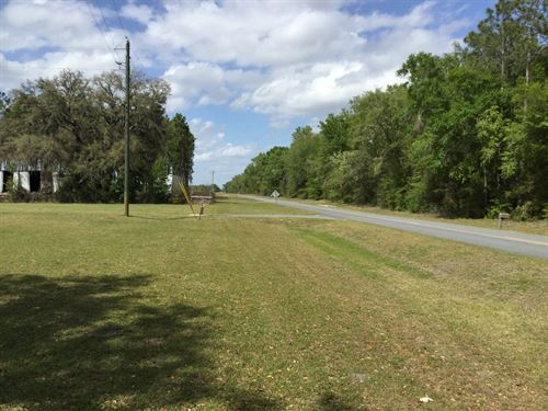 516 Acres With Home : Mayo : Lafayette County : Florida