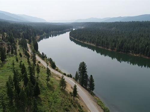 Fishing Property In Thompson Falls : Thompson Falls : Sanders County : Montana