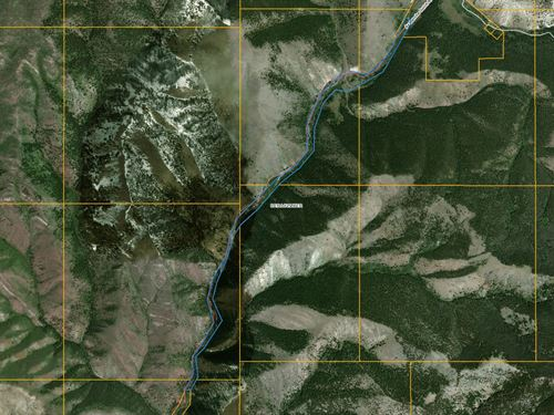 Avalanche Gulch Land With History : Townsend : Broadwater County : Montana