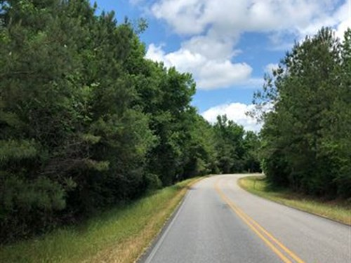25+/- Ac Gin Branch Farms, Auburn : Waverly : Lee County : Alabama