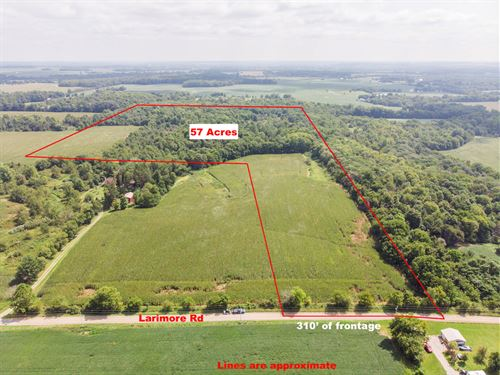Larimore Rd, 57 Acres : Mt Vernon : Knox County : Ohio