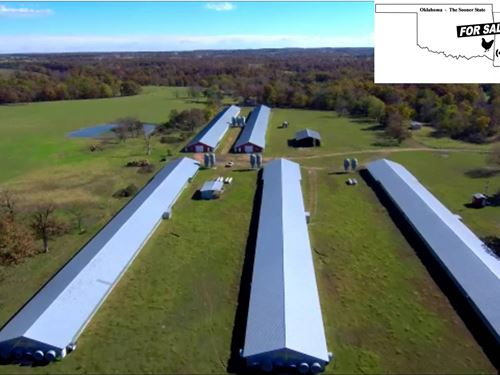 Poultry Farm/Real Estate Investment : Gentry : Benton County : Arkansas