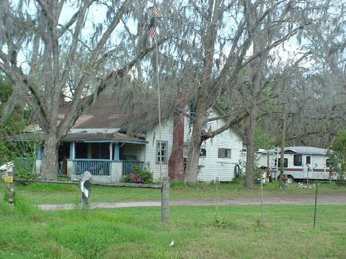 Farm House On 75 Acres -A-562 : Starke : Bradford County : Florida