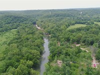 10 Acres With Direct River Frontage : Lebanon : Dallas County : Missouri