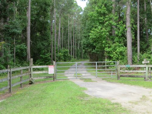 Seaboard Timber And Hunting Tract : Wacissa : Jefferson County : Florida