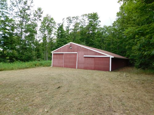 Big Acreage With Lots Of Potential : Gaylord : Otsego County : Michigan