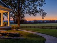 Picturesque 194 Acre Georgia Farm : Chickamauga : Walker County : Georgia