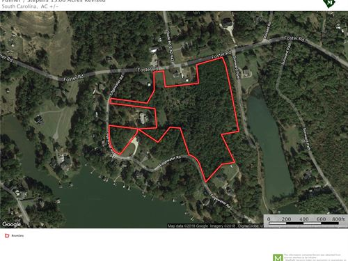 15 Acres With Views Of Lake Bowen : Inman : Spartanburg County : South Carolina