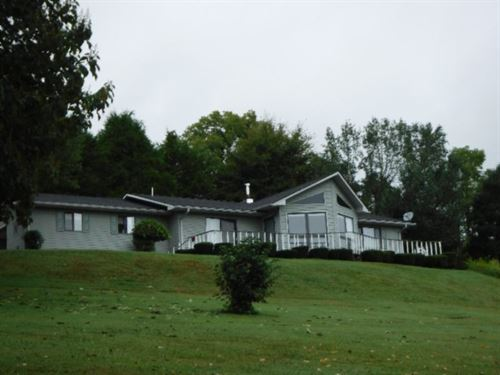 14.32 Ac, Home, Work Shop, Pasture : Celina : Clay County : Tennessee