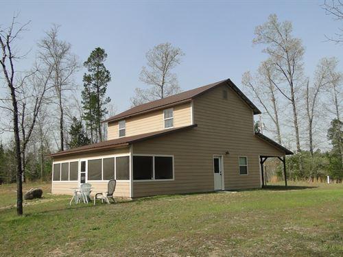 Home With Acreage Ozark Mountains : Calico Rock : Izard County : Arkansas