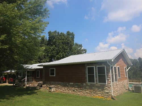 Country Home With Acreage Ozarks : Mammoth Spring : Fulton County : Arkansas