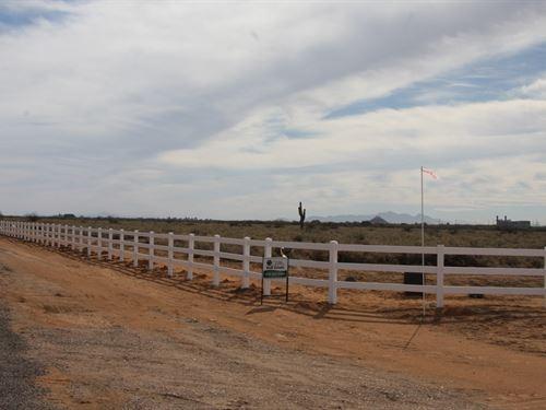 Land Arizona, Horse Land Home AZ : Casa Grande : Pinal County : Arizona