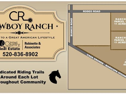 Land Casa Grande Arizona Horse : Casa Grande : Pinal County : Arizona