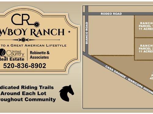 Land Casa Grande Az Horse Property : Casa Grande : Pinal County : Arizona