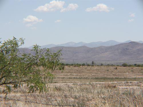 Scenic 36 Acres Main Road McNeal : McNeal : Cochise County : Arizona