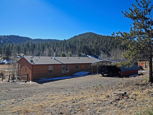 Florissant Colorado Home Ten Acres : Florissant : Park County : Colorado