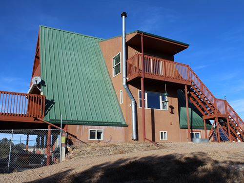 Sustainable Mountain Home Acreage : Cotopaxi : Fremont County : Colorado