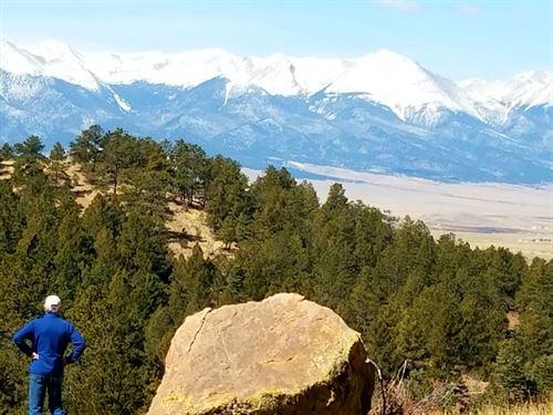 82 Acres Stream Westcliffe : Westcliffe : Custer County : Colorado