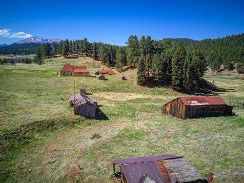 Woodland Park Ranch Stream : Woodland Park : Teller County : Colorado