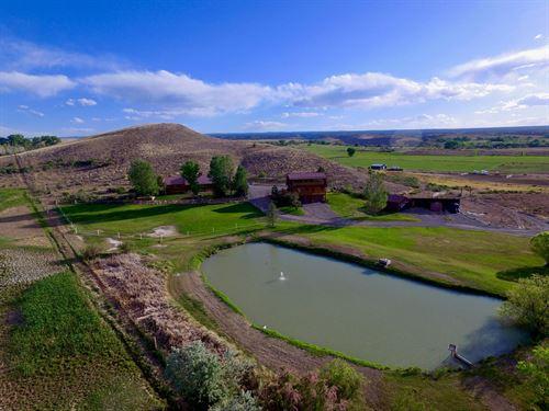 Country Home Log Guest House : Olathe : Montrose County : Colorado