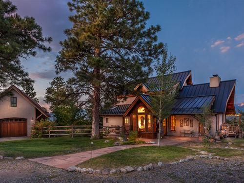 Mountain Recreation Residential : Ridgway : Ouray County : Colorado