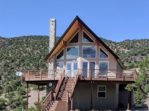 Home & Garage/Shop, 32.33 Acres : Salida : Chaffee County : Colorado