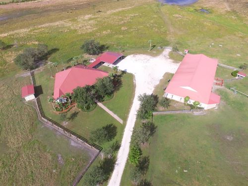 Country Home Horse Stables 60 Acres : Arcadia : Desoto County : Florida