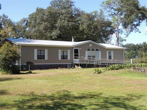 10 Acres, Rural, Close to Suwannee : Branford : Suwannee County : Florida