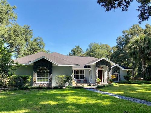 Concrete Block Home 10 Acres : Trenton : Gilchrist County : Florida