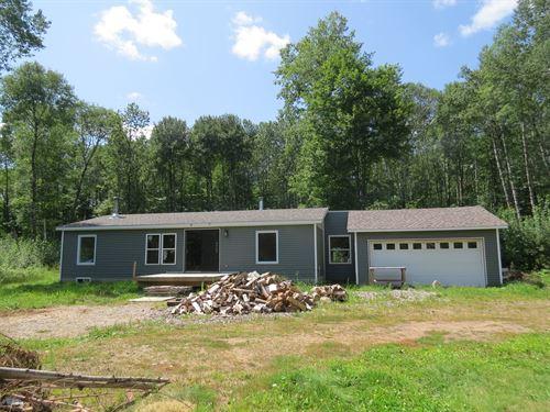 Home Country 10 Acres, Fixer Upper : Bruno : Pine County : Minnesota