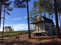 Pond, Cabin, Creeks : Sparta : Hancock County : Georgia