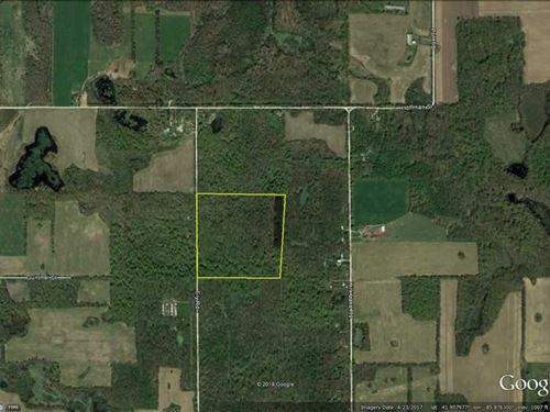 Ely Rd, 46 Acres : Vandalia : Cass County : Michigan