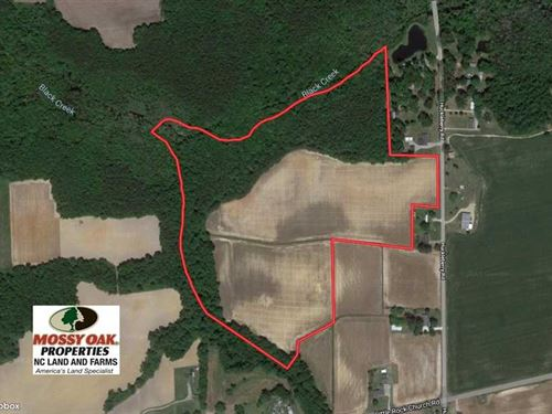 Under Contract, 43 Acres of Farm : Lucama : Wilson County : North Carolina