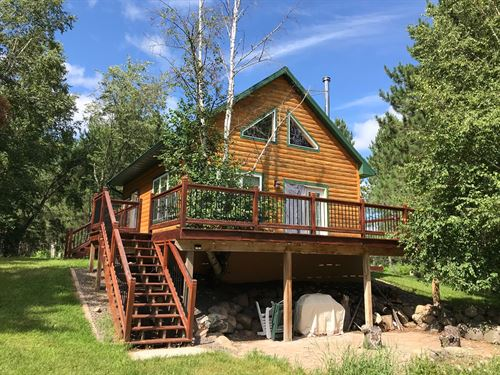 Cabin, Bunk Hse, Wooded Pine Acres : Holyoke : Carlton County : Minnesota